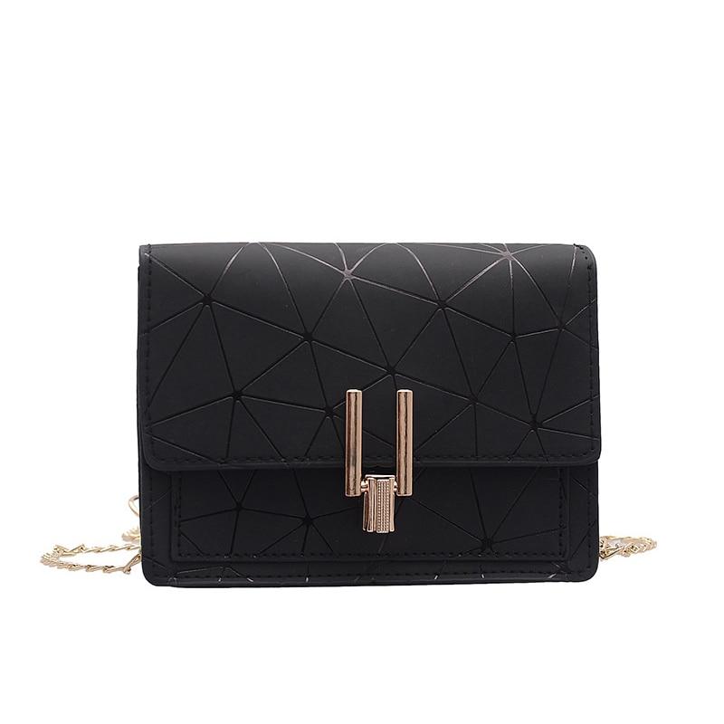 Women Fashion Shoulder Messenger Bags Ladies Geometric Plaid Crossbody Handbag Female Mini Flap Bag New Korean Style Tote SS0425