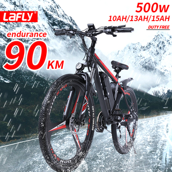 Duty free 26 Inch Electric Bike Electric mountain Bicycle Lithium Battery E-bike 27 speed Aluminum alloy ebike 500WFast delivery 1
