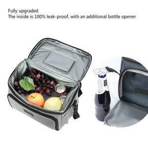 Image 4 - DENUONISS New Waterproof Cooler Bag Refrigerator Thermal bag Oxford 24 Can Large Capacity Thermos Bag Portable Fridge