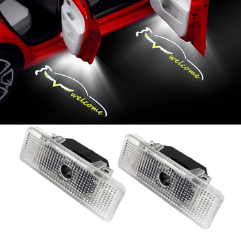 Angel Wing Logo Laser Projector Light Car Styling Door Courtesy Welcome light For BMW X5 E53 Z8 E52 I3 I8 E39 5-Series Shadow image
