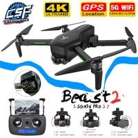 Dron Pro 2 / SG906 con GPS, cuadricóptero profesional con Wifi, cámara 4K, tres ejes, antivibración, cardán sin escobillas, novedad de 2021