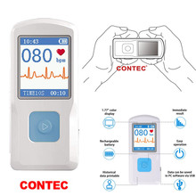 CONTEC  Manufacturer shipping PM10 Portable ECG Monitor, Bluetooth transmission,color TFT-LCD