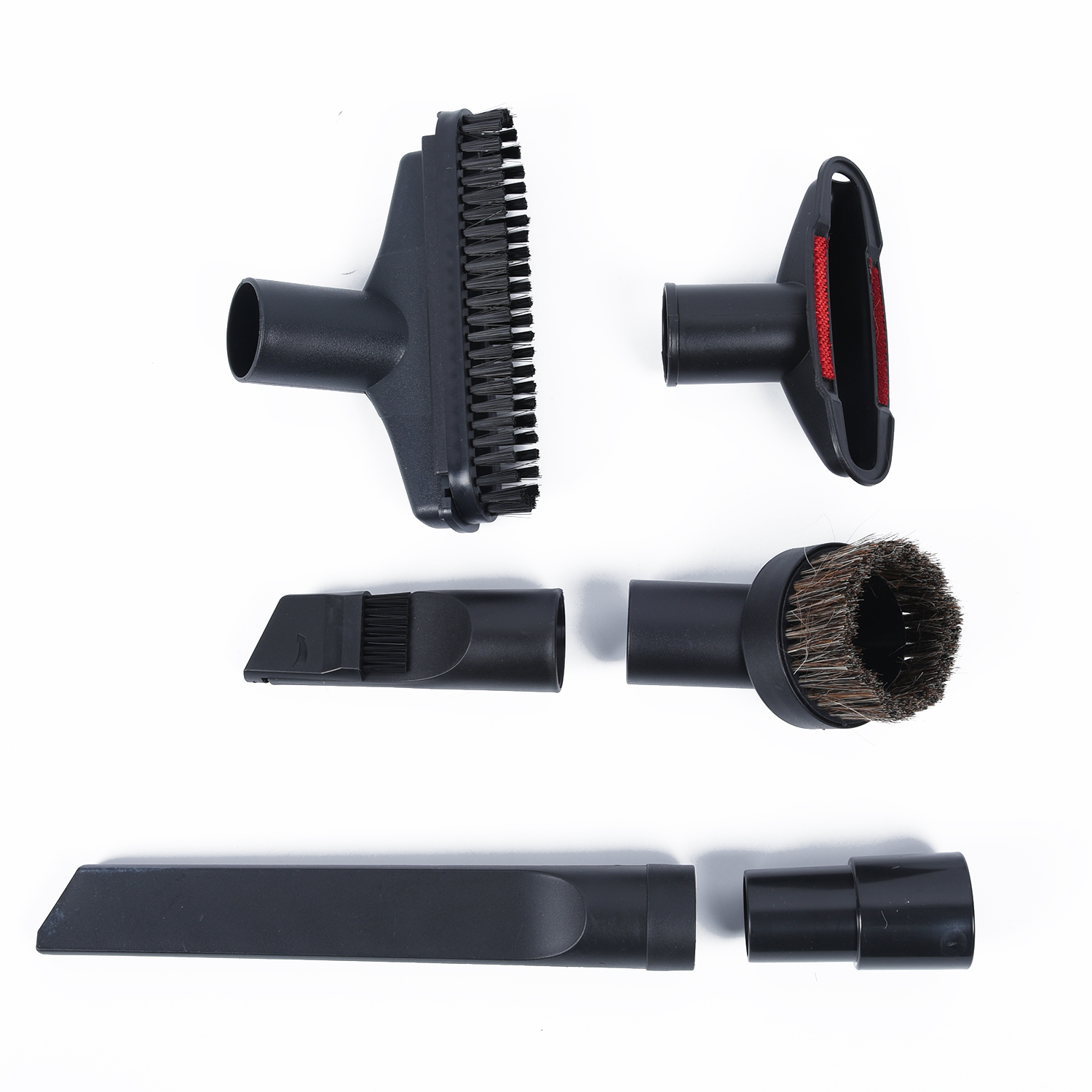 Detachable Brush Nozzle Adapter Kit Dust Dirt Remover Sweeping Cleaning Tools Vacuum Cleaner Replacement Parts