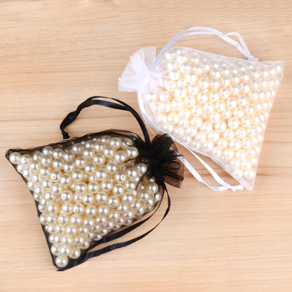 100pcs 24 Colors Jewelry Bag 5*7 7*9  9*12  10*15cm Wedding Gift Organza bag Jewelry Packaging Display & Jewelry Pouches 4