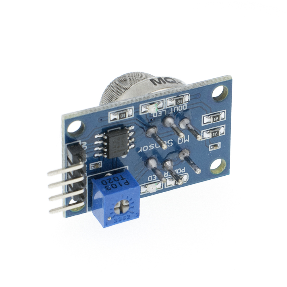 Image 2 - Module MQ 2 Smoke methane gas liquefied flammable gas sensor module-in Integrated Circuits from Electronic Components & Supplies
