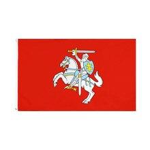 90x150cm bandeira do estado da lituânia bandeira do alferes lituano