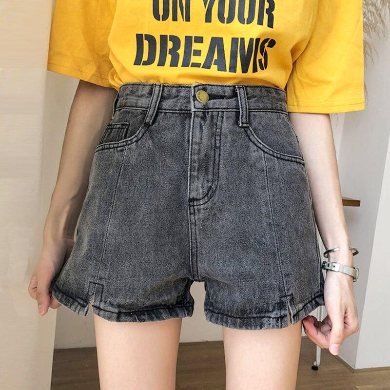 Women Summer Fashion Brand Korea Style High Waist Denim Jeans Shorts Female Casual Loose Sexy Shorts Cloth