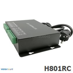 H801RC 8 ports Slave LED Pixel Controller Work with Computer Network or Marster Controller (H803TV or H803TC) Drive 8192 Pixels