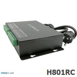 H801RC 8 ports esclave LED Pixel contrôleur travail avec réseau informatique ou Marster contrôleur (H803TV ou H803TC) lecteur 8192 Pixels