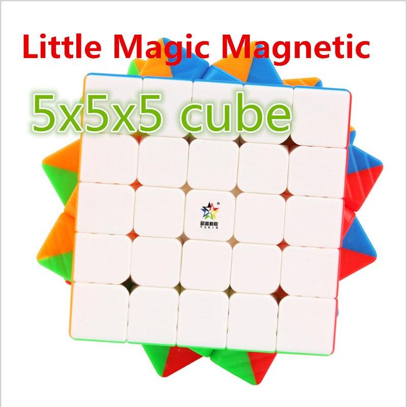 Yuxin 5x5x5 Cube Little Magic M 5x5x5 Magnetic Magic Cube Yuxin Magnetic 5x5 Speed Cube Zhisheng 5x5 Magnetic Puzzle Cube Toys