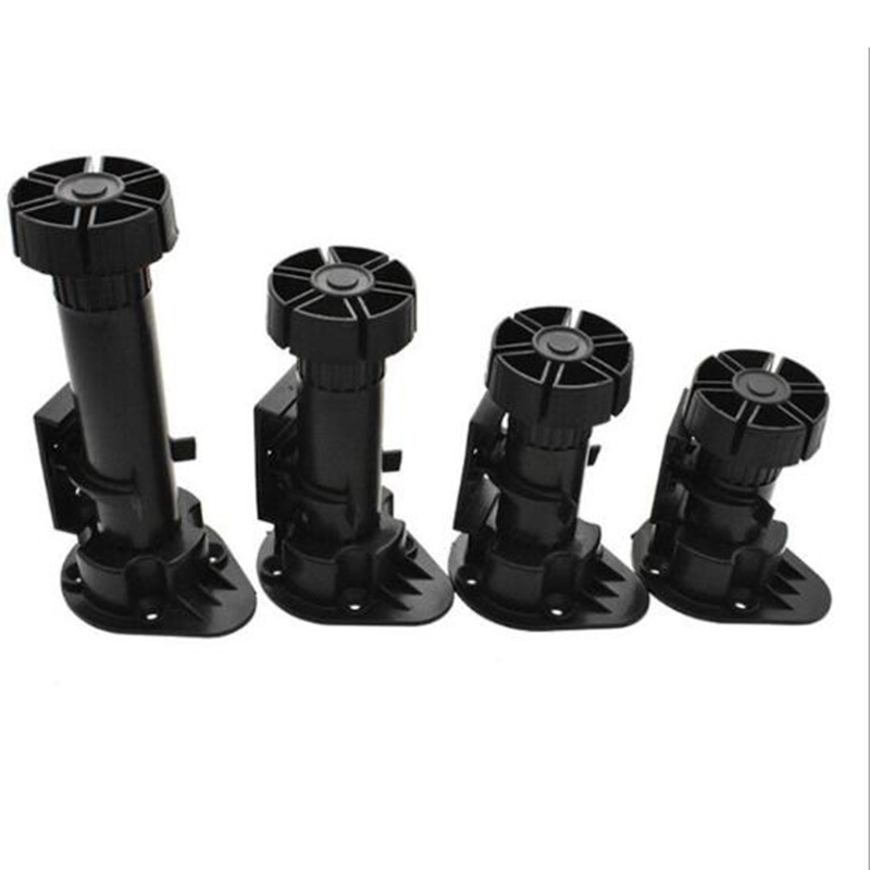 4pcs Adjustable Foot Leveler Display Raising Wardrobe Cabinet Drawer Home Kitchen Bathroom Furniture Legs