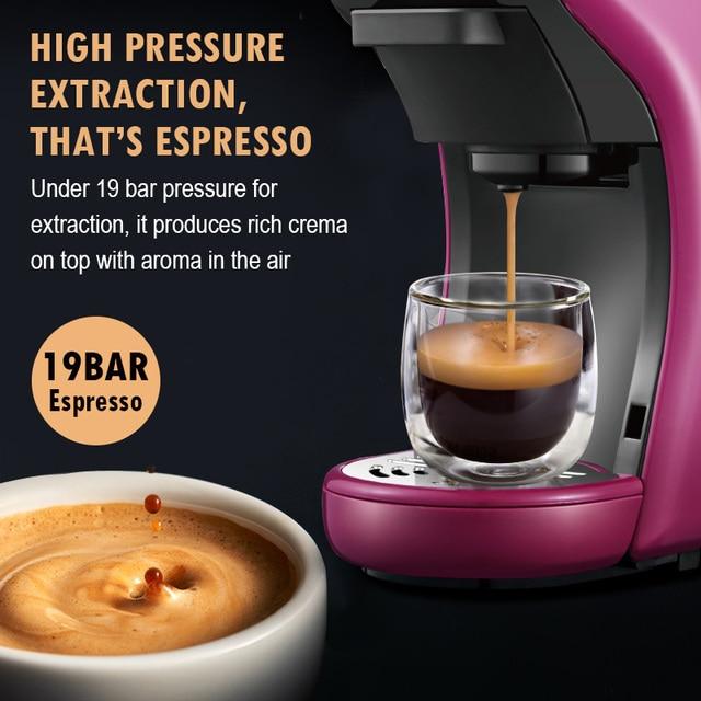 HiBREW ST-504 Espresso Coffee Machine 3-In-1 Multi-Function;Coffee Maker,Espresso Maker,Dolce gusto capsule coffee machine, 4