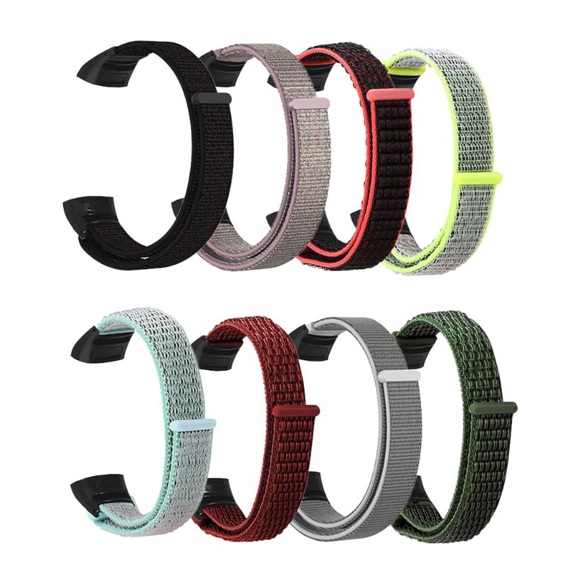 New Replacement Durable Nylon Loop Wristband Smart Watch Band Wrist Strap For Huawei Honor Band 5/4 Bracelet Accessories