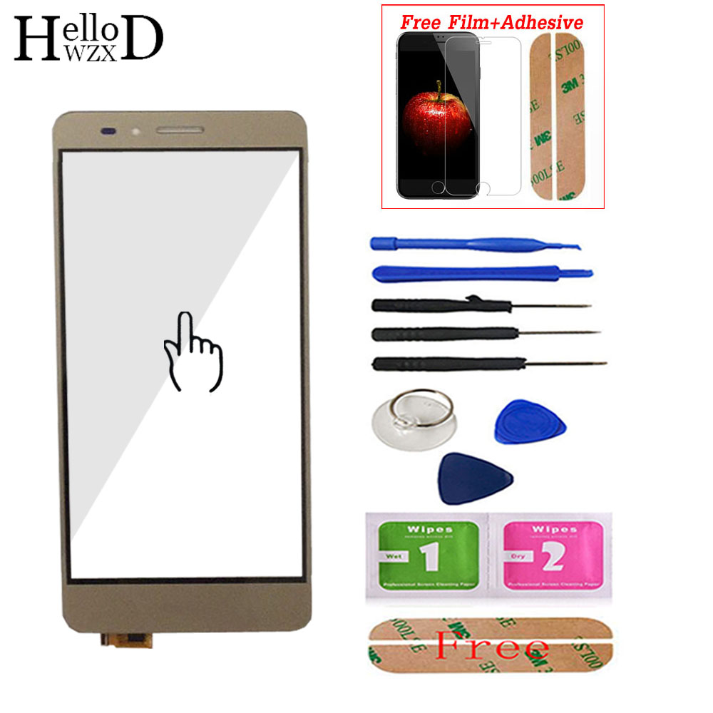 <font><b>Touch</b></font> <font><b>Screen</b></font> Glass For <font><b>Huawei</b></font> <font><b>Honor</b></font> <font><b>5X</b></font> Digitizer Panel <font><b>Touch</b></font> <font><b>Screen</b></font> Lens Sensor Touchscreen Front Glass Protector Film Adhesive image