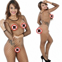 Sexy Lingerie Underwear Babydoll Hot Fishnet Sleepwear Sex Toys For Women Apparel Lace Dress Nightwear G string Erotic Lingerie