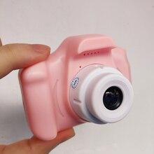 Цифровая мини-камера игрушки 2 дюймов HD экран заряжаемый дети мультфильм милые детские игрушки наружная Фотография реквизит для ребенка день рождения
