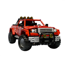 2139 Off Road Pickup Racing Car Technic MOC for 201022 Building Blocks City Bricks Model Figures Educational Kids Toys moc robot fit the iron robot technic city figures giant model building blocks bricks kids toys boy gifts birthday diy toys