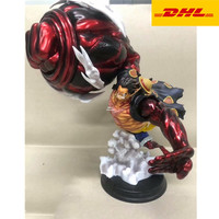 15 One Piece Statue The Straw Hat Pirates Bust Gear Fourth Luffy Full Length Portrait The Ape PVC Action Figure Toy 39CM V852