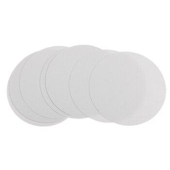 10Pcs Round Safety Bath Tub Treads Non Slip Applique Stickers Bathroom Mat