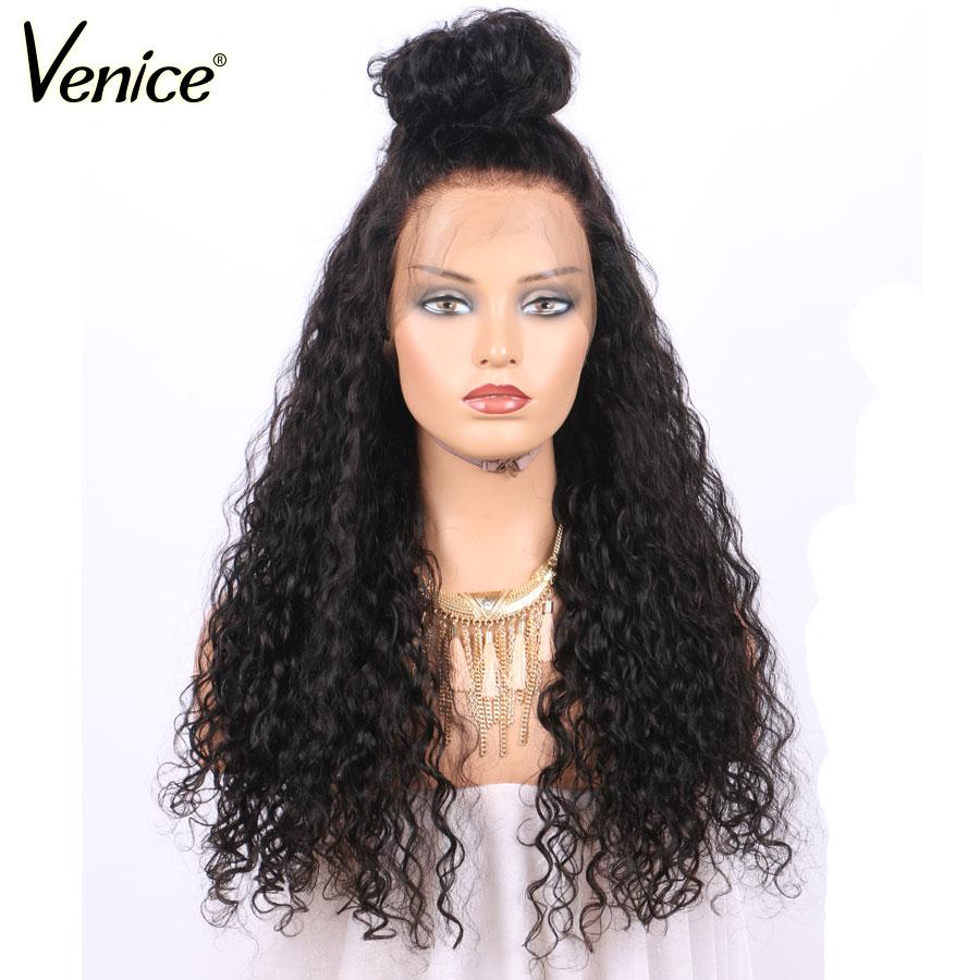 Veneza 360 perucas frontais do laço para