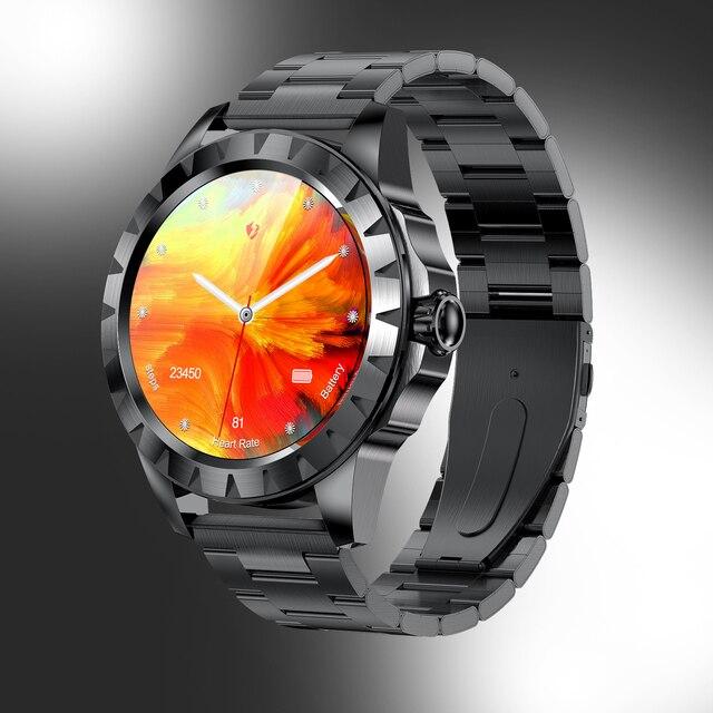 Lemfo Lemz Smart Watch Bluetooth, Tela Amoled ECG, Personalizado 2