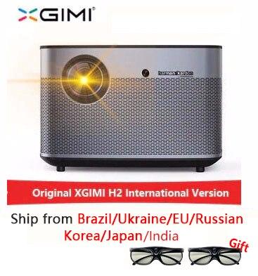 XGIMI H2 1920*1080 dlp projecteur Full HD 1350 ANSI lumens projecteur 3D prise en charge 4K Android wifi Bluetooth projecteur