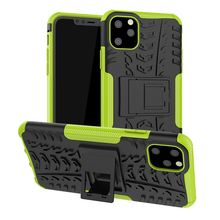 For iPhone 11 Case Heavy Duty Armor Slim Hard Tough Rubber Cover Silicon Phone Pro Max