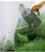 Arrosoir translucide à longue bouche pour jardin, plantes vertes succulentes, en pot, fournitures de jardinage
