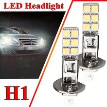 NEW 2PCs New H1 6000K Super White 55W LED Headlight Bulbs Kit Fog Rijden Licht Driving Light Auto Accessoires koplamp Lampen