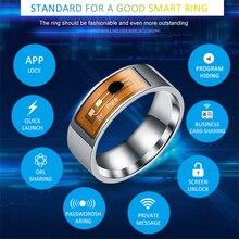 NFC умное кольцо, многофункциональное, водонепроницаемое, интеллектуальное, волшебное, умное, носить палец, цифровое кольцо для Android, Windows, NFC, мобильные замки