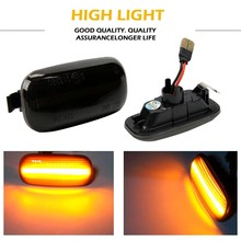2x 18smd No error code Led Side Marker Light Amber for Audi A3 S3 8P A4 S4 RS4 B6 B7 B8 A6 S6 RS6 C5 C7 Turn Signals Indicator perfect white canbus error free led bulb interior dome map overhead light kit for audi a4 s4 rs4 b5 b6 b7 b8 1996 2015