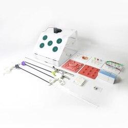 Ensemble de boîte de formation de chirurgie laparoscopique étudiants médecins infirmière simulé équipement chirurgical outils de pratique pédagogique
