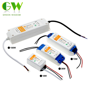 DC12V 18W 36W 72W 100W Lighting Transformers High Quality LED Driver for LED Strip Lights 12V Power Supply Adapter.(China)