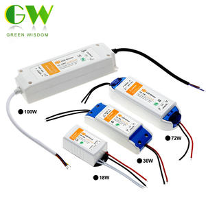 Lighting-Transformers Led-Driver Power-Supply Led-Strip-Lights DC12V 100W Adapter. 36W