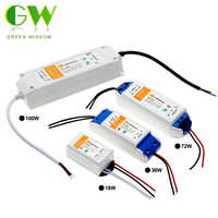 DC12V 18W 36W 72W 100W Lighting Transformers High Quality LED Driver for LED Strip Lights 12V Power Supply Adapter.