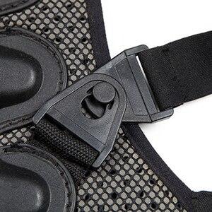 Image 5 - 2019 kayak spor geri yelek koruma yeni çıkarılabilir kayak vücut zırhı Backpiece arka koruyucu koruyucu vücut omurga siyah