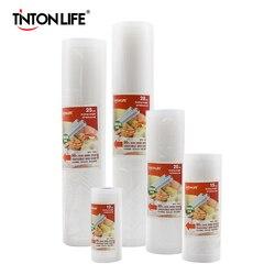 TINTON LIFE, кухонные вакуумные пакеты для хранения пищевых продуктов, пакеты для вакуумного упаковщика, для хранения свежих продуктов, длительн...
