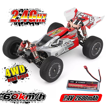 цена на WLtoys 1/14 144001 RTR 2.4GHz RC Car Scale Drift Racing Car 4WD Metal Chassis Hydraulic Shock Absober Off-Road Vehicle Toy