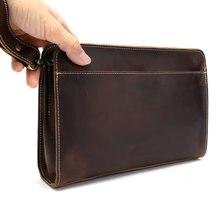 Auray мужской кошелек из натуральной кожи для денег кожаный