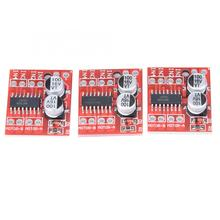 3pcs 1.5A 2-Way DC Motor Driver Module PWM Speed Regulation Dual H-Bridge Replace L298N digital stepper driver