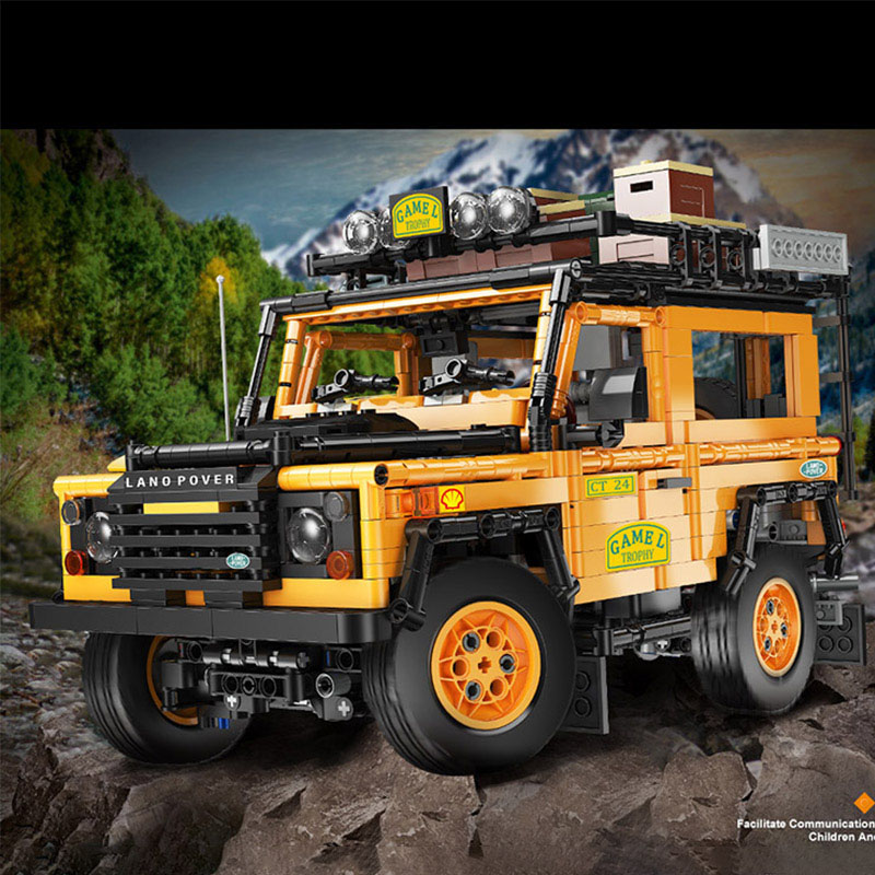 Yeshin J908 High-Tech Car Model The MOC SUV Off Road Vehicle Car Building Blocks