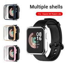 360 הגנת מקרה עבור Xiaomi Mi שעון לייט אדום Redmi שעון כיסוי Smartband מסך מגן על Xiomi Readme ציפוי TPU coque