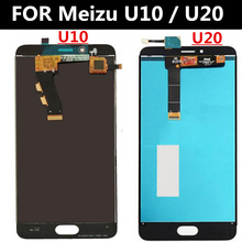 FOR Meizu U10 U20 LCD Display+Touch Screen+Tools Digitizer Assembly Replacement Accessories for Meilan U10 U20 LCD Touch Screen защитный чехол с подставкой r just для телефонов meizu mx5 pro meizu mx5 meizu meizu meilan note3 mei lan u10 mei lan u20 mei lan 3 meilan e