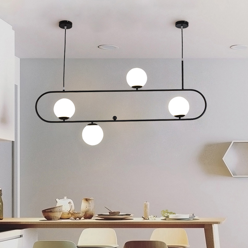 Suspension Golden Pendant Lights Metal Glass Mirror Ball Hanging Lamp Kitchen Modern Lighting Fixtures Hanging Light