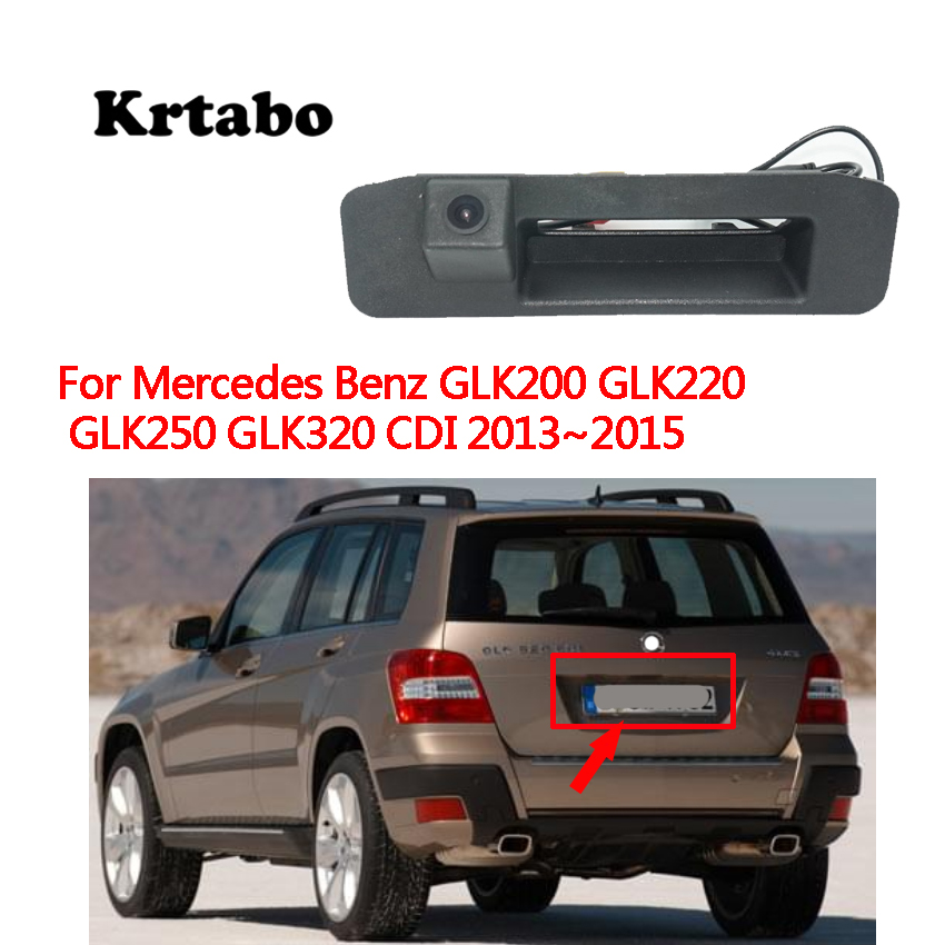For Mercedes Benz GLK200 GLK220 GLK250 GLK320 CDI 2013 2014 2015 Car Rear View Back Up Reverse Parking Camera high quality CCD