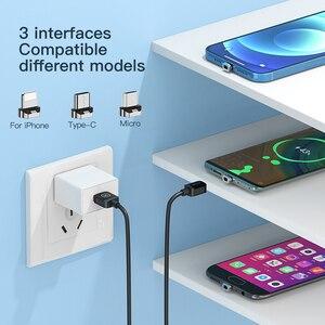 Магнитный зарядный кабель KUULAA, шнур USB Type C, кабель Micro USB C для iPhone, Xiaomi, Samsung, магнитный телефонный зарядный шнур, провод USBC|Кабели для мобильных телефонов|   | АлиЭкспресс