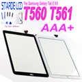Test 100% Samsung Galaxy Tab Için E 9.6 SM-T560 T560 T561 Dokunmatik Ekran Digitizer Cam Panel Onarım Parçası Ücretsiz araçları