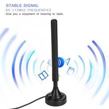25dB High Gain FM Radio Amplifier Antenna Signal Electronic Stereo High Sensitivity USB FM Radio Amplifier Antenna Aerial