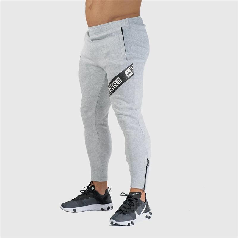 Pants Men Pantalon Homme Streetwear Jogger Fitness Bodybuilding Pants Pantalones Hombre Sweatpants Trousers Men SH 33
