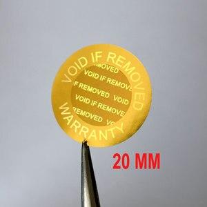 Image 3 - Hologramme de sécurité de 8mm pour réparation de téléphone, nul si supprimé, garantie pour un usage unique